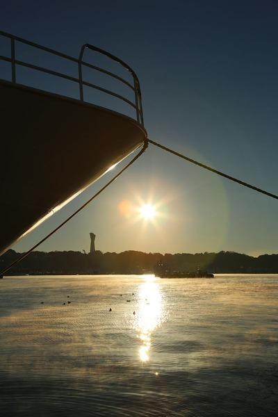 早朝の小名浜港1