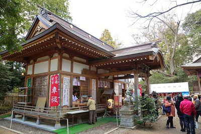 佐麻久嶺神社の初詣1