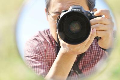 カメラ好きのおじちゃん(笑)