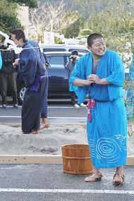 奇祭・真冬の水掛け祭り「水祝儀」 6