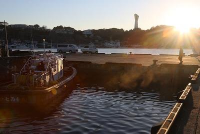 早朝の小名浜港3