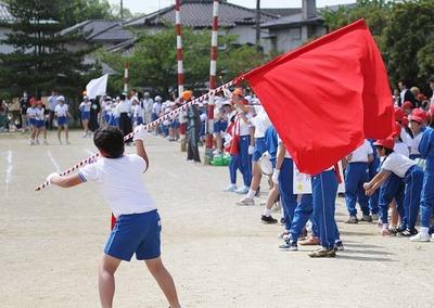 いわき市の小学校の運動会2