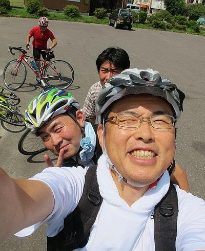 夏井川下りのサイクリング2