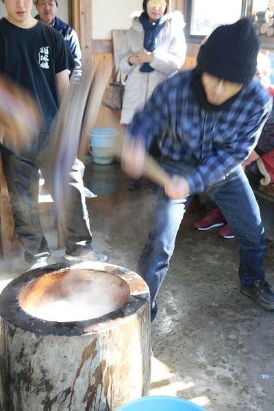 貝泊「新春もちつき大会」5
