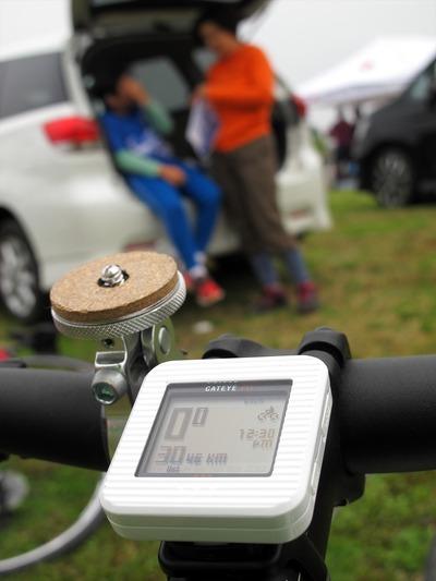 檜原湖一周ファミリーサイクリング