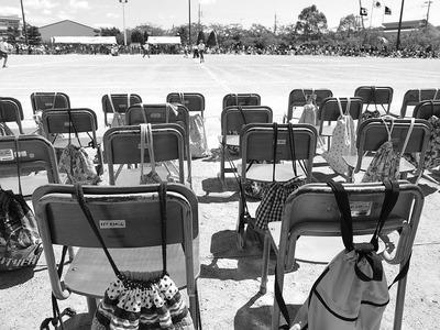 いわき市の小学校の運動会5