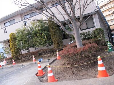 医院外構工事3