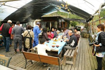 大和田自然農園さんで昼食6