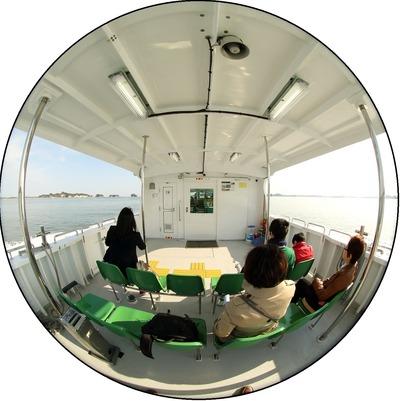 松島の遊覧船2