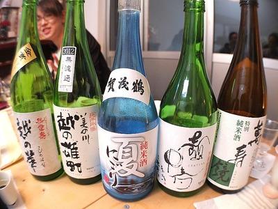 「利き酒 & 楽食会」in まるとみ酒店4