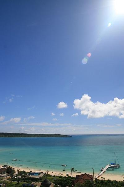 宮古島の陽光