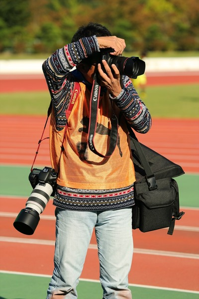 専属カメラマン!
