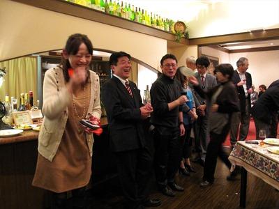 ボジョレーの会 in シェ栗崎3