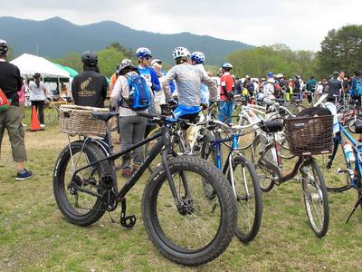 檜原湖一周ファミリーサイクリング・びっくり