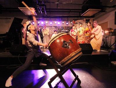 大みそか・市民音楽祭「和太鼓」1