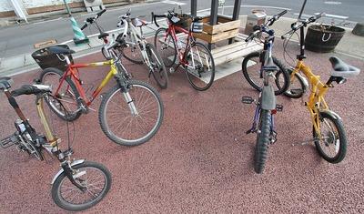 自転車もまた楽し♪