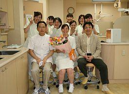 3月・・・酒井歯科医院も卒業式