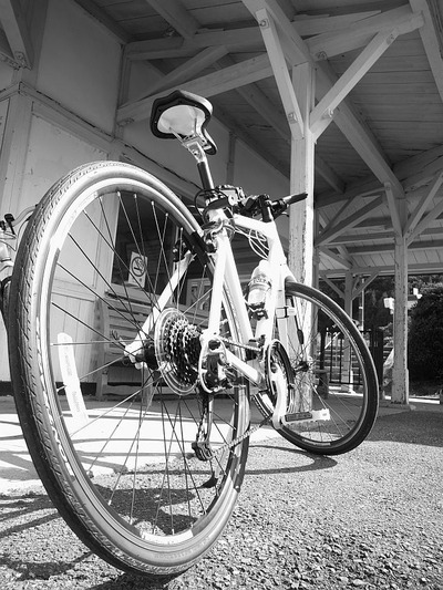 自転車のある駅1