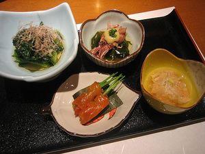 「いなせ」の料理2