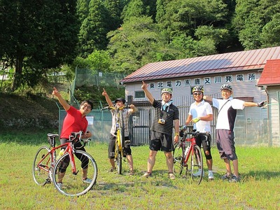 夏井川下りのサイクリング5