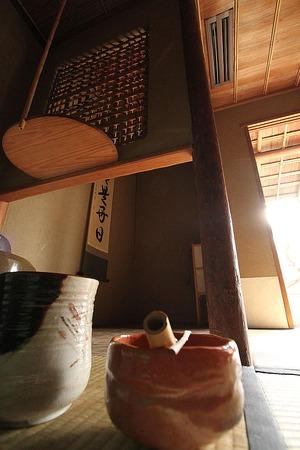 茶室・・・侘び寂の境地6