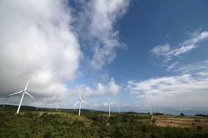 布引高原・風力発電所1