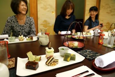 「飛翔庵」で日本茶を楽しむ会2