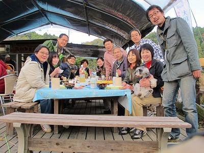 大和田自然農園さんにて芋煮会5