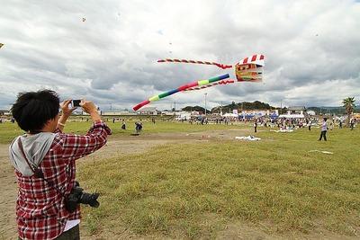 いわき凧揚げ大会 in 四倉海岸3