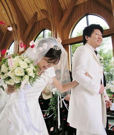 スタッフの結婚式4