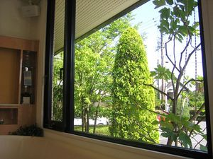 待合室からの眺め