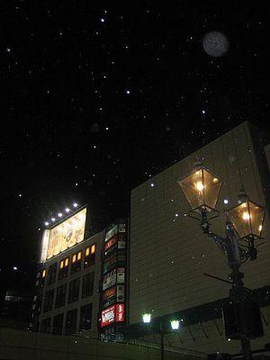 3月下旬の仙台の夜