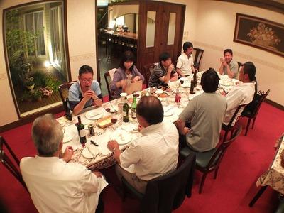 貝泊写真倶楽部・「シェ栗崎で食事会」1