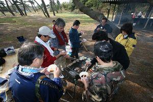 サークルの芋煮会1