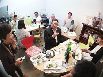 「利き酒 & 楽食会」in まるとみ酒店5