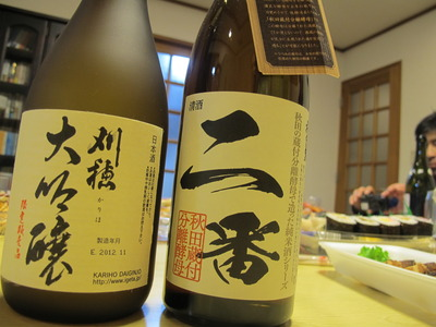 秋田の日本酒は素晴らしい!