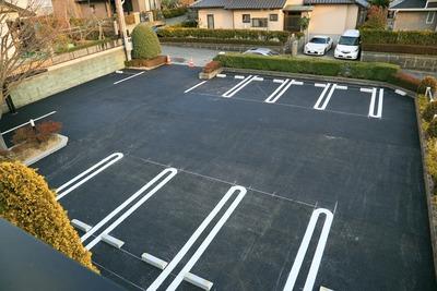 新たなる駐車場