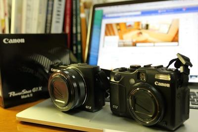 新旧のカメラ