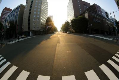 早朝の札幌散策1