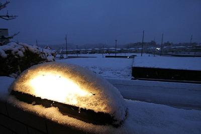 雪模様の建国記念日