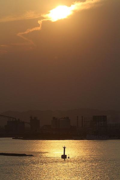 夕暮れの小名浜港②