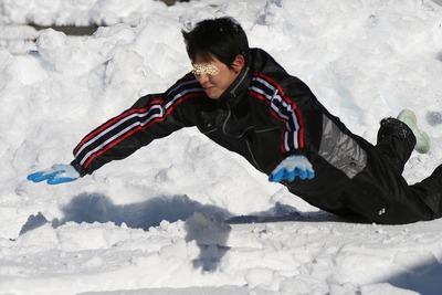 貝泊・雪合戦4