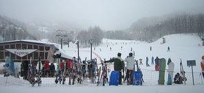 大晦日の箕輪スキー場