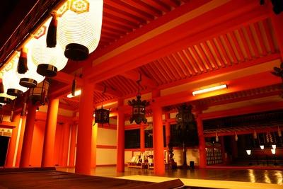 早朝の厳島神社3