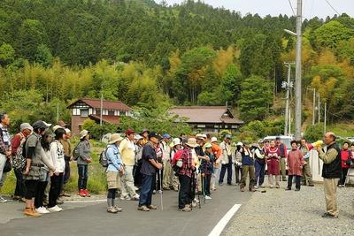遠野町、滝富士登山1
