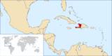 ハイチの場所はここでした