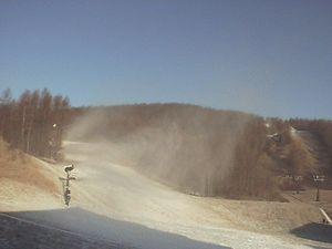 11月29日のグランデコ・スキー場の朝