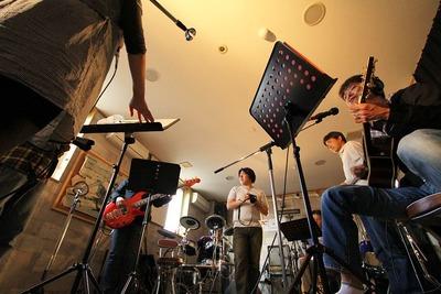 バンド練習風景撮影2