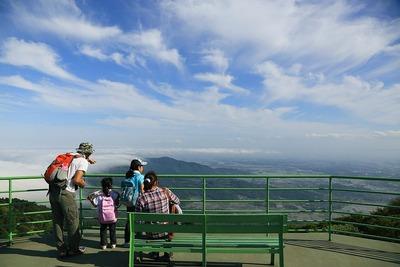 筑波山から望む