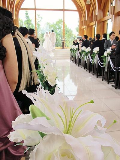 スタッフの結婚式2
